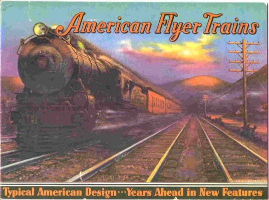 1934 American Flyer Catalog Reprint by Heeg (JOB714) Mint Condition