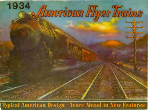 1934 American Flyer Catalog Reprint by Greenberg (JOB714) Excellent Condition