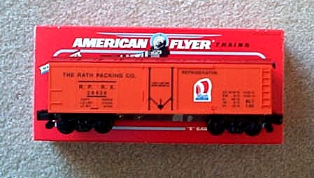 1993 American Flyer Rath Reefer Car. (6-48317). Mint Condition.