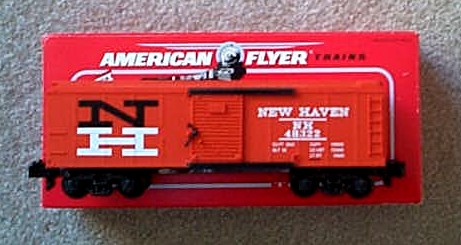 1995 American Flyer New Haven Box Car (6-48322). Mint Condition.
