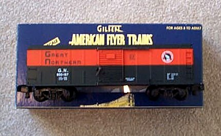 1997 American Flyer Great Northern Box Car (6-48328). Mint Condition.