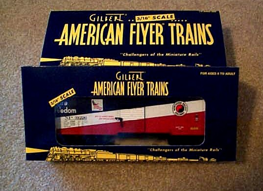 2002 American Flyer Northern Pacific Box Car (6-48348). Mint Condition.