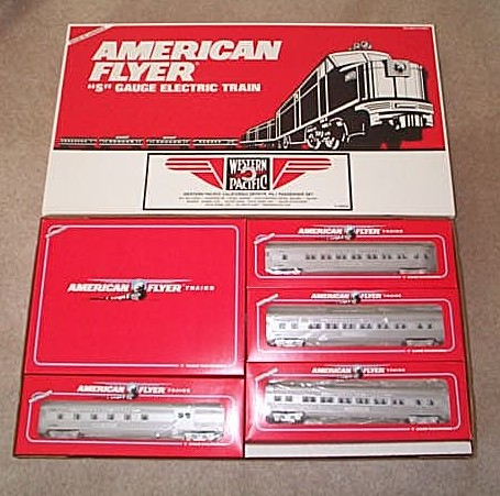 American Flyer 6-49604 Western Pacific California Zephyr Train Set Mint Condition.