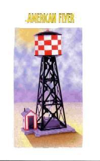 2002 American Flyer Water Tower (6-49809). Mint Condition.