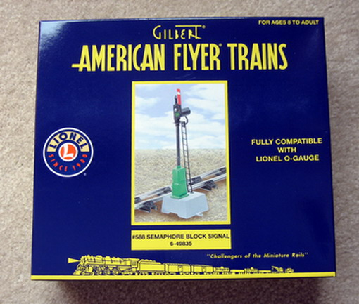 2008 American Flyer 588 Semaphore Signal (6-49835). Mint Condition.
