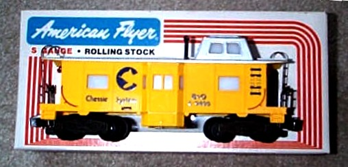 1980 American Flyer Chessie Caboose (4-9400). Mint Condition.