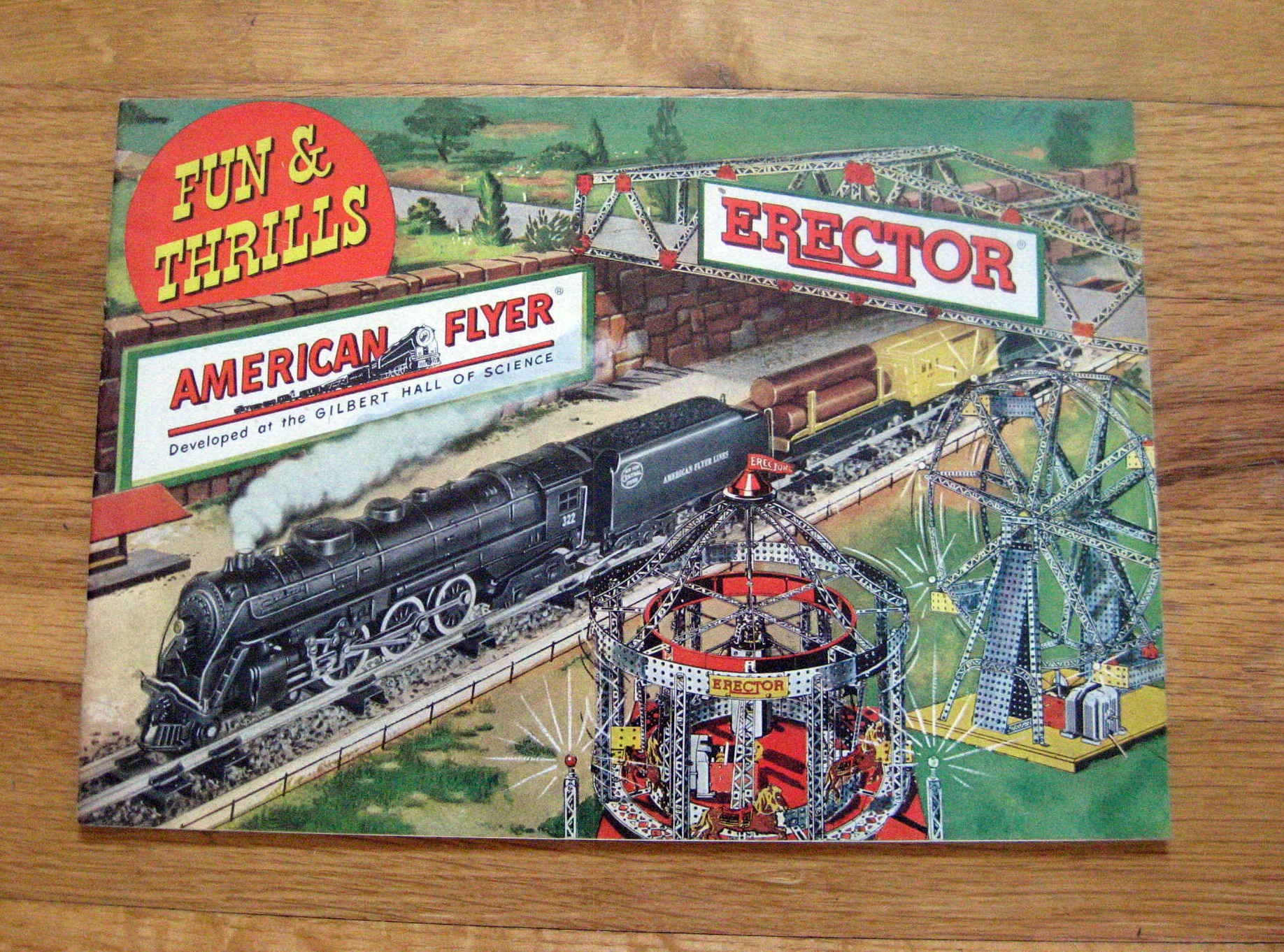 1949 Gilbert American Flyer Consumer Catalog (D1536) Excellent Condition