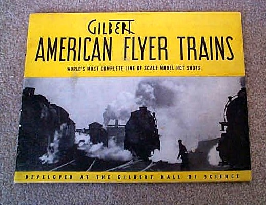 1940 Gilbert American Flyer Catalog (D1333) Excellent Minus Condition