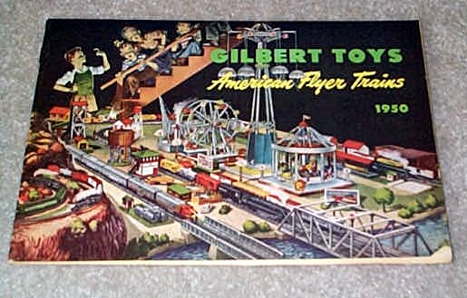 1950 Gilbert American Flyer Advance Catalog (D1604) Excellent Condition