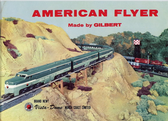 1956 Gilbert American Flyer Consumer Catalog (D1867) Excellent Condition
