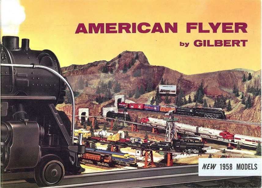 1958 Gilbert American Fly Consumer Catalog (D2047) Near EX Condition