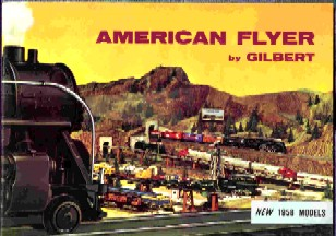 1958 Gilbert American Fly Consumer Catalog (D2047) Excellent Condition