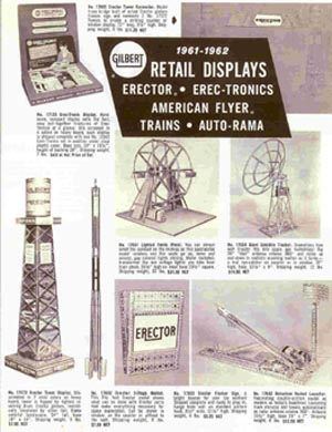 1961 American Flyer Retail Displays Flyer (D2255). Mint Condition.