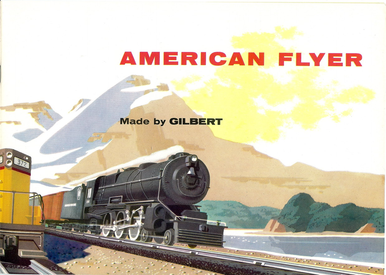 1955 Gilbert American Flyer Consumer Catalog (D1801) Mint Condition
