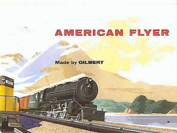 1955 Gilbert American Flyer Consumer Catalog (D1802) Mint Condition