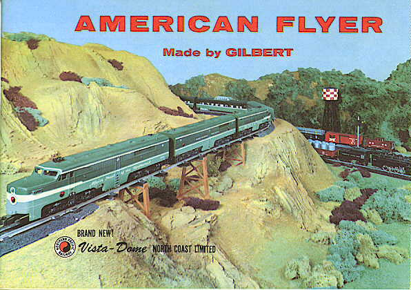 1956 Gilbert American Flyer Consumer Catalog (D1866) Mint Condition