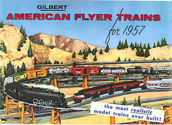 1957 Gilbert American Flyer Consumer Catalog (D2007) Mint Condition.