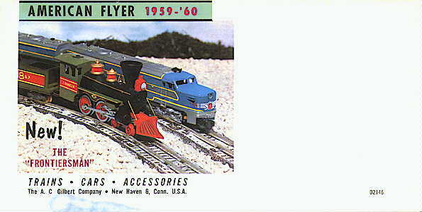 1959 Gilbert American Flyer Catalog Folder (D2146) Mint Condition