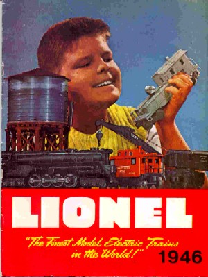 1946 Lionel Consumer Catalog (Greenberg Reprint.) Excellent Condition.