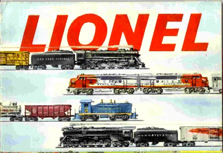 1953 Lionel Consumer Catalog. Mint Condition.