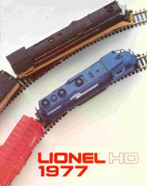 1977 Lionel HO Catalog 12 Pgs. Mint Condition.