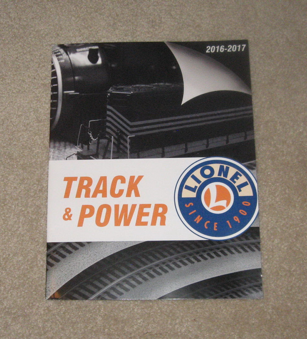 2016-2017 Lionel Track & Power Catalog. Mint Condition.