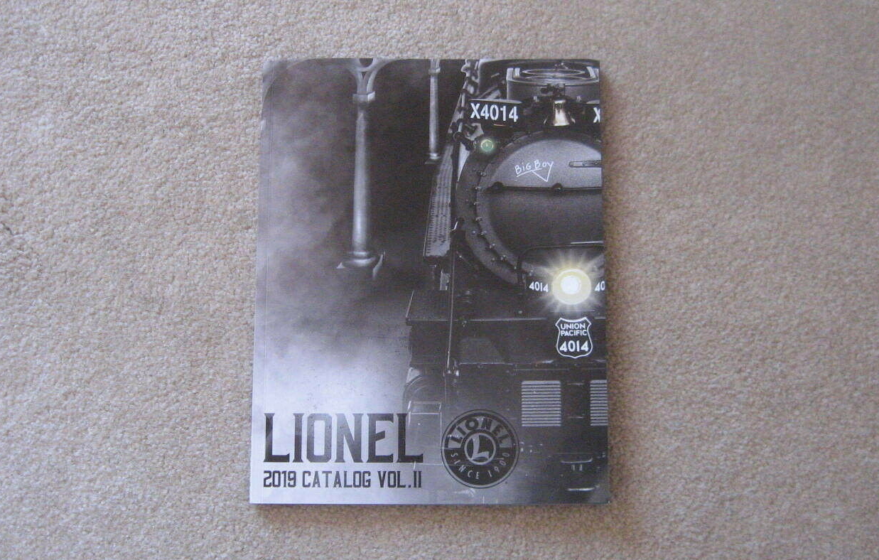 2019 Lionel Trains Volume Two Consumer Catalog. Mint Condition