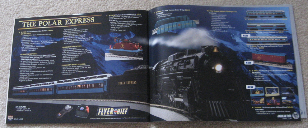 2017 Lionel American Flyer Trains Catalog. Mint Condition