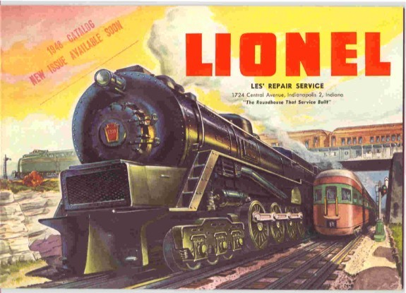 1948 Lionel Consumer Catalog. (Original) Mint Condition. Rubber Stamped.