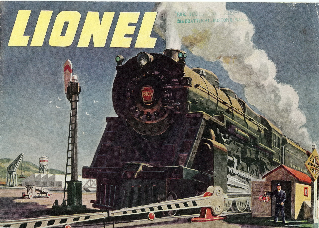 1947 Lionel Consumer Catalog. Very Good Plus Condition.