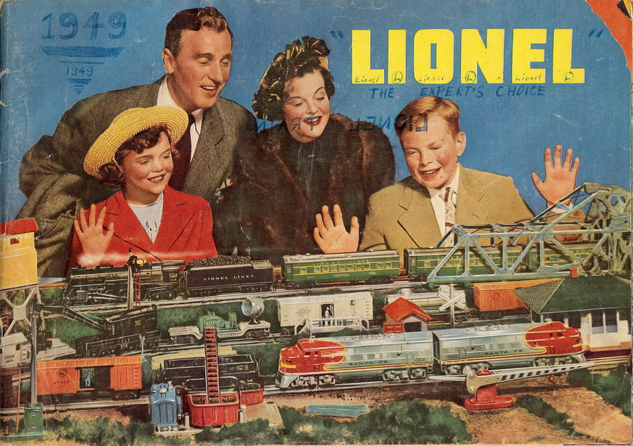 1949 Lionel Consumer Catalog (Original). Good Condition.