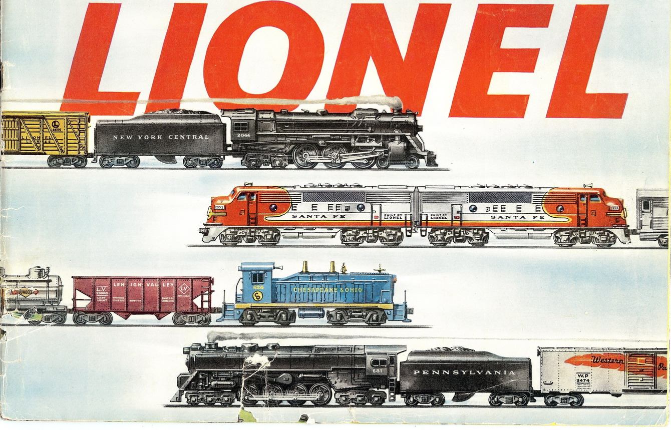 1953 Lionel Consumer Catalog Very Good Condition