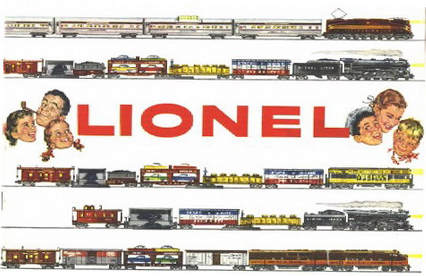 1955 Lionel Consumer Catalog Mint Condition