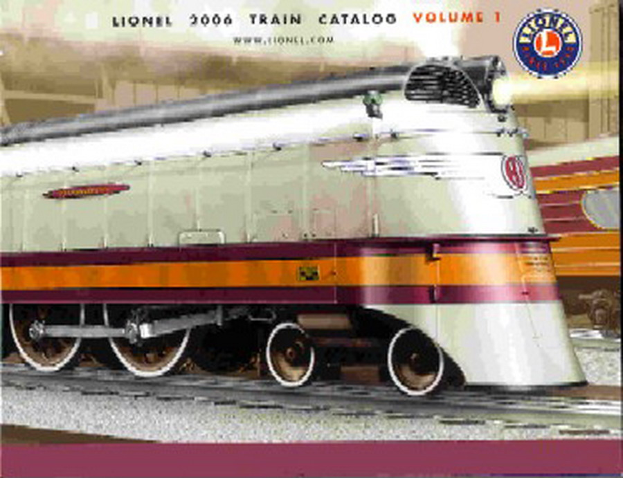 2006 Lionel Consumer Catalog Vol 1. Mint Condition.