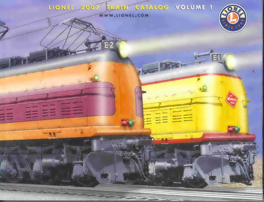 2007 Lionel Trains Consumer Catalog, Vol 1 Mint Condition.