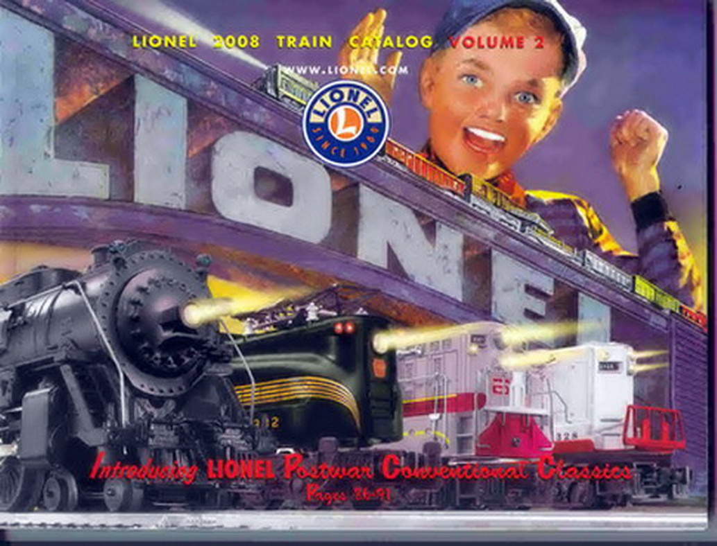 2008 Lionel Trains Consumer Catalog, Vol 2. Mint Condition.