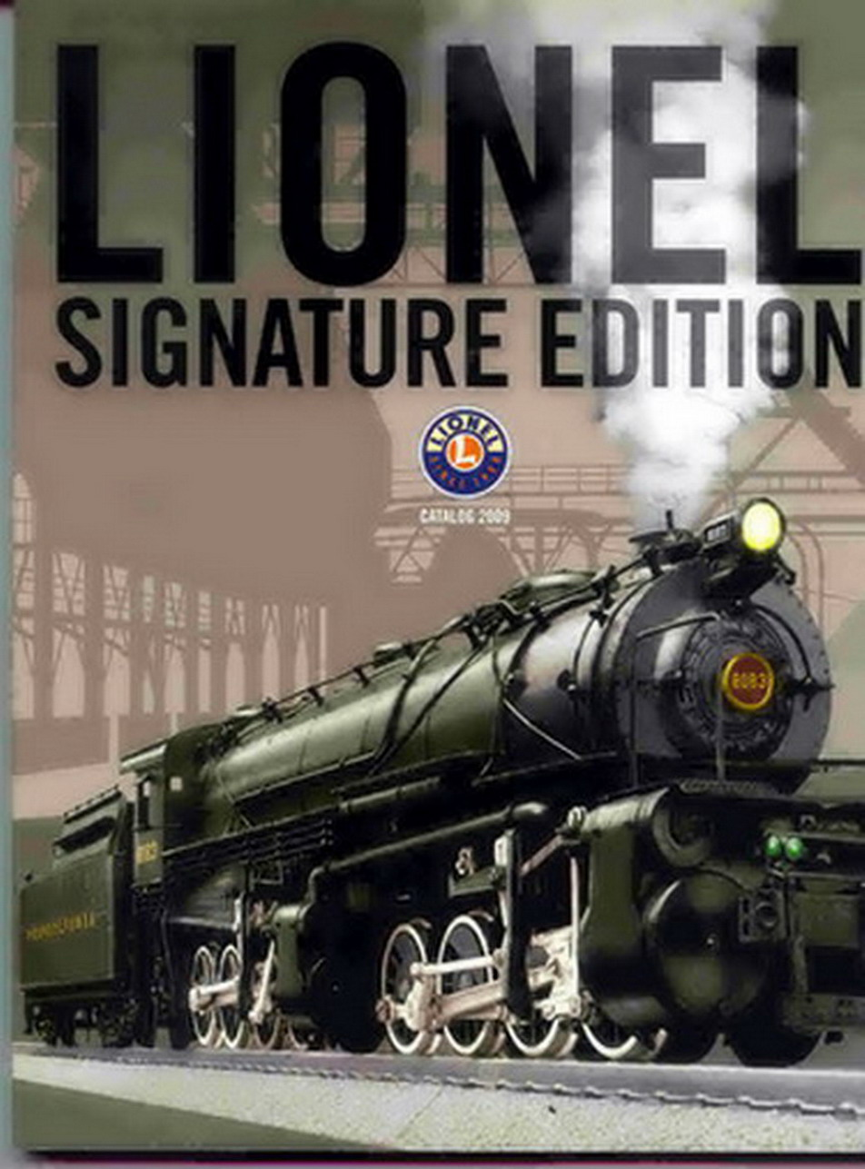 2009 Lionel Trains Signature Edition Catalog. Mint Condition.