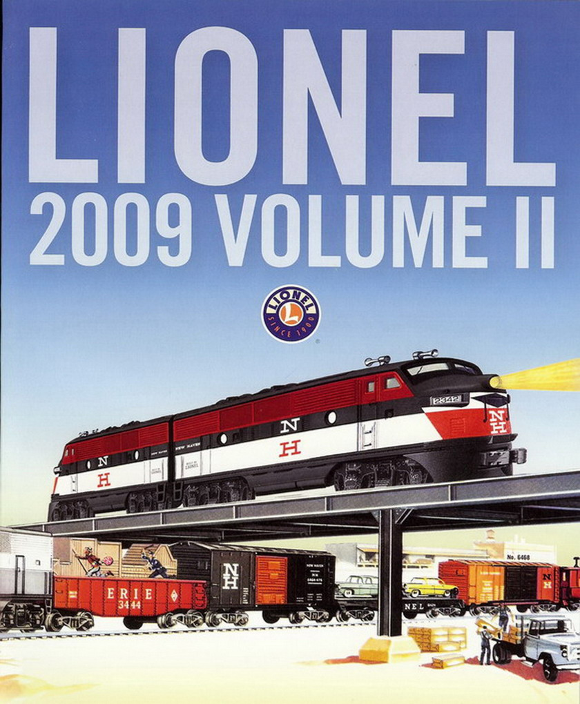 2009 Lionel Trains Consumer Catalog, Vol 2. Mint Condition.
