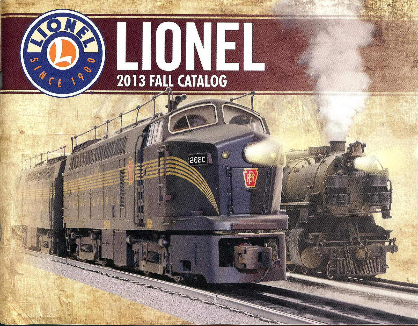 1996 LIONEL TRAINS  SETS FOLDOUT FLYER MINT