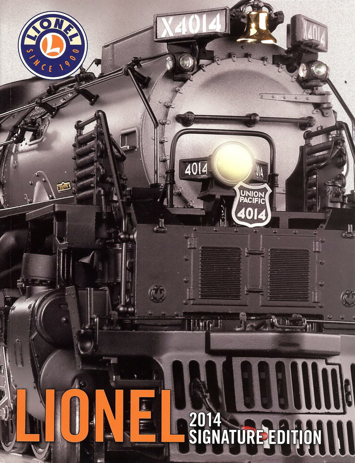 2014 Lionel Trains Signature Edition Catalog. Mint Condition.