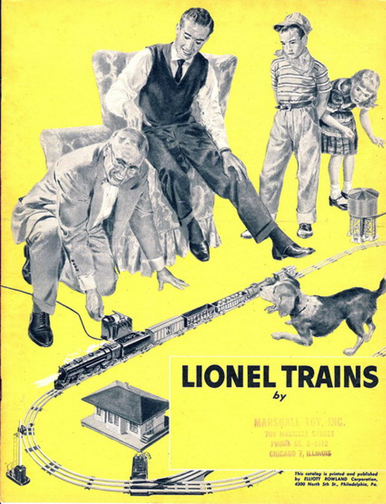 1955 Lionel Trains and Accessories Catalog. Mint Condition. Pulp Paper.