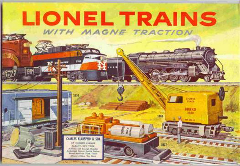 1956 Lionel Consumer Catalog. Mint Condition.