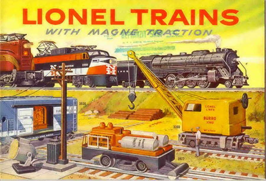 1956 Lionel Consumer Catalog. Mint Condition. Rubber Stamped.