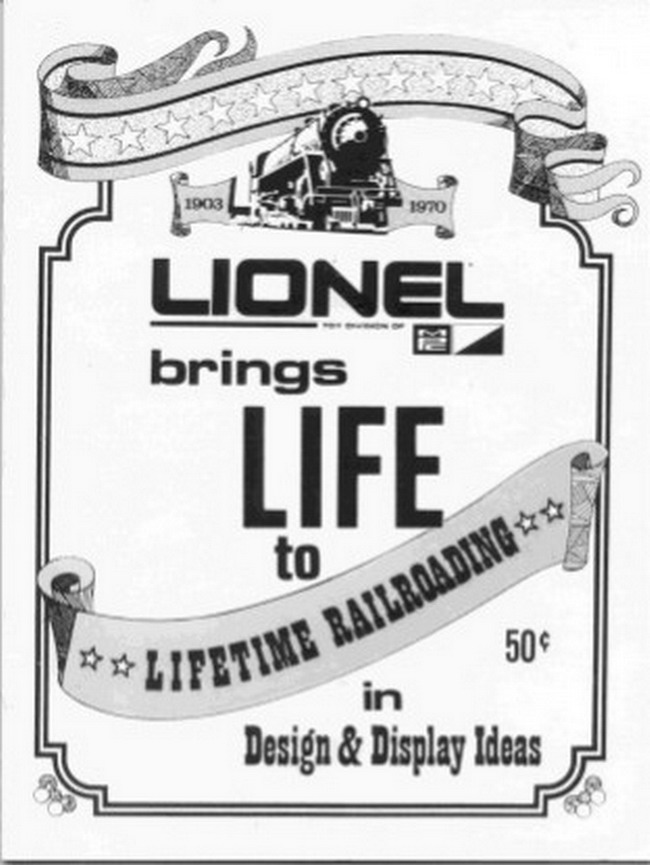 1970 Lionel Design & Display Ideas. Mint Condition.