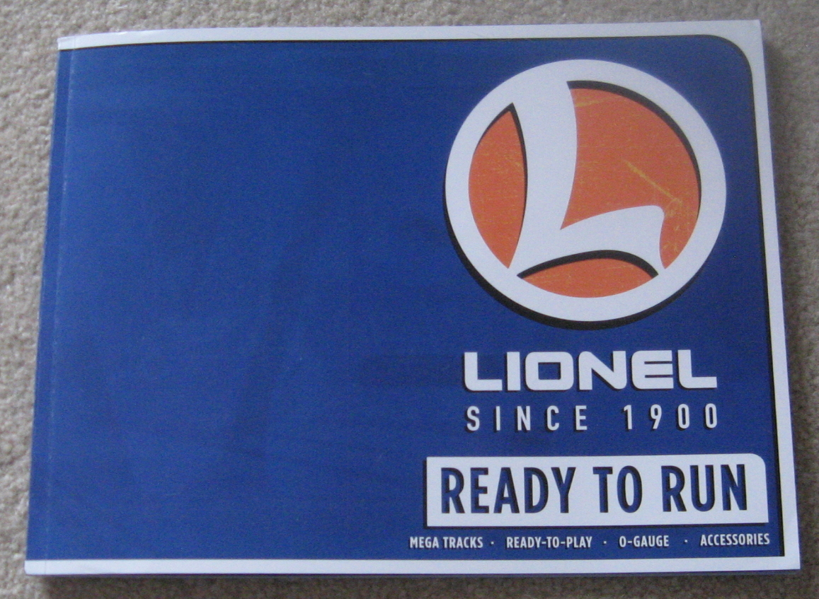 2017 Lionel Trains Ready To Run Catalog. Mint Condition.
