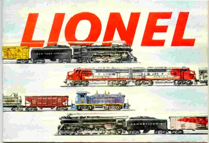 1953 Lionel Consumer Pocket Catalog. Excellent Condition.