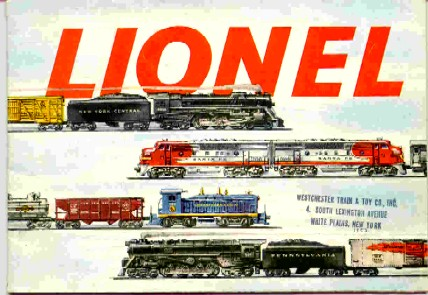 1953 Lionel Pocket Size Catalog. Excellent Condition. Rubber Stamp.