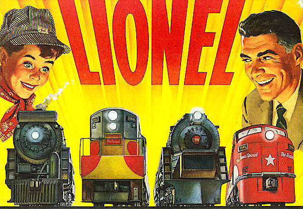 1954 Lionel Consumer Pocket Catalog. Mint Condition.