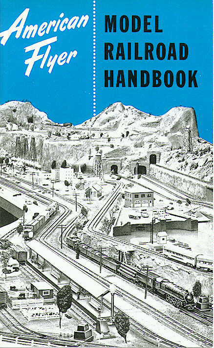 American Flyer Model Railroad Handbook (M2978). Mint Condition.