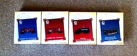 2005 Lionel #10 Pennsylvania Steam Special Set. (QX2052, QX16173, QX16176)